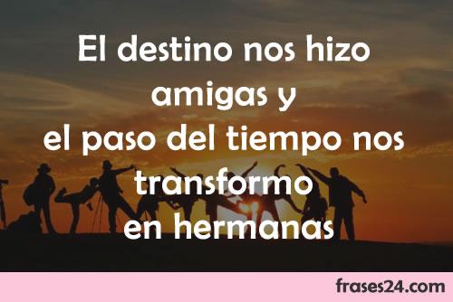 Frases Para Amigos Y Amigas Bonitas Y Cortas
