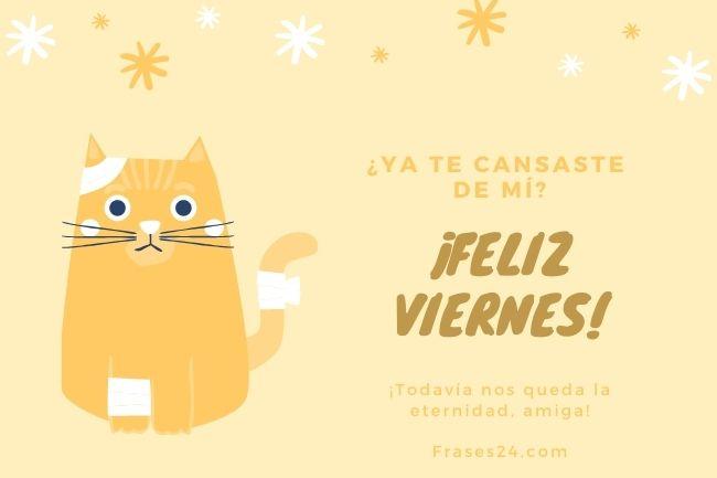 feliz viernes querida amiga