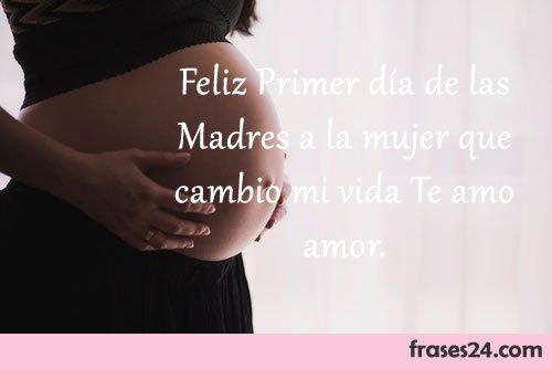Frases feliz dia de las Madres embarazada