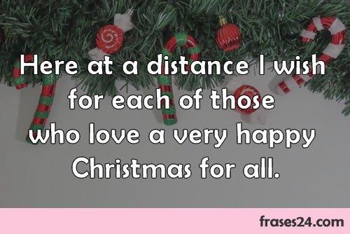 Tarjetas de navidad frases en ingles