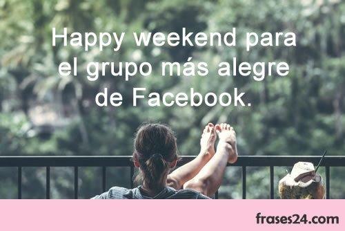 mensajesy frases Feliz fin de semana